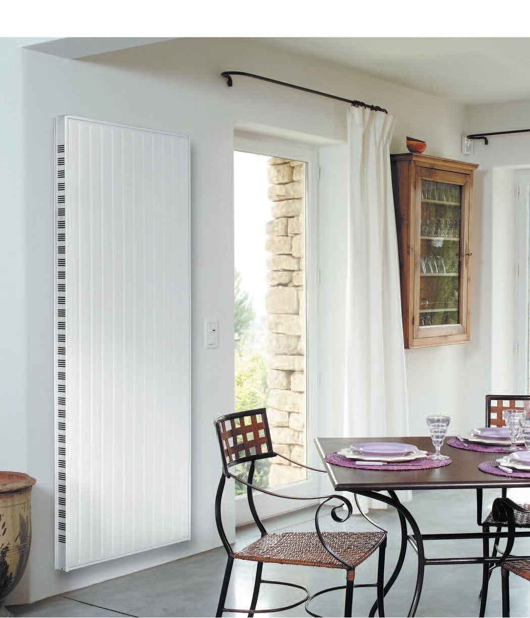 radiateur vertical gaz trendy marimba radiateur v with. Black Bedroom Furniture Sets. Home Design Ideas